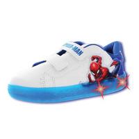 Sneakers Blanco Con Azul Spiderman T06801
