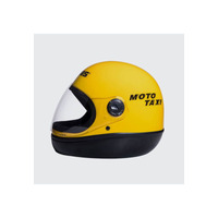 Capacete San Marino Amarelo Mototaxi