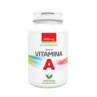 Vitamina A - Retinol 60 comprimidos 600mcg - Vital Natus
