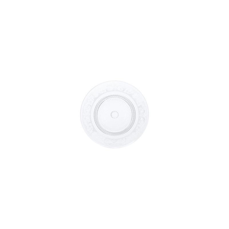 Jogo 06 Pratos para Sobremesa De Vidro Angel 20Cm - Lyor 4106776