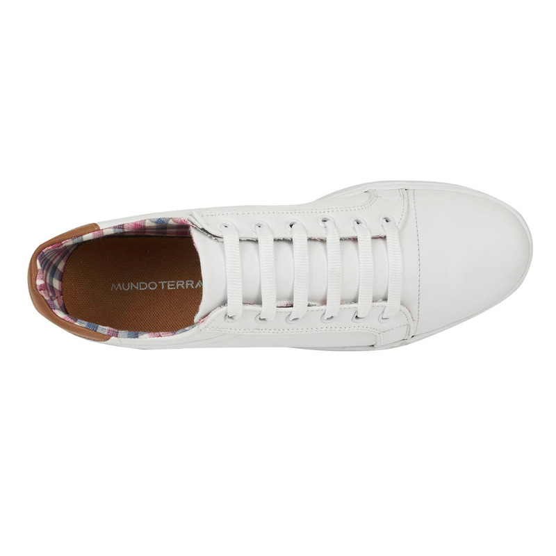 Sneakers blancos estampados 018324