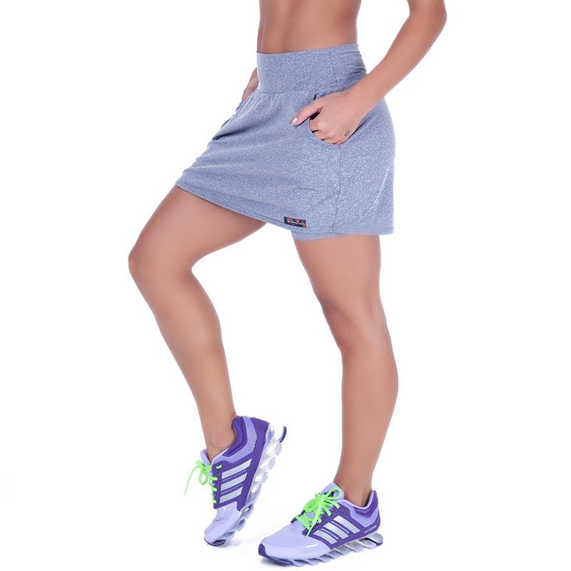 Short Saia Summer Soul Fitness Mescla