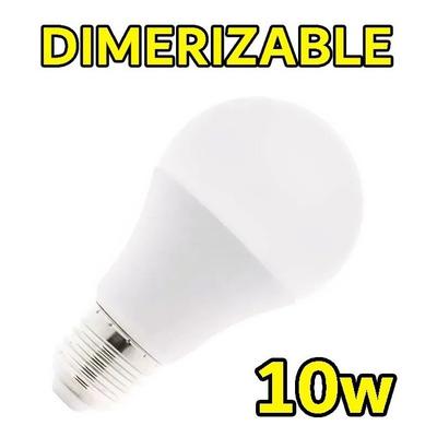 Lampara Led E-27 Dimerizable 10w Rosca Excelente Luz Desing