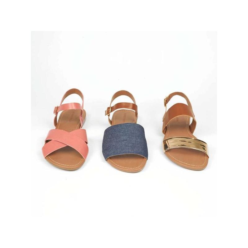 Sandalia piso multicolor  016799