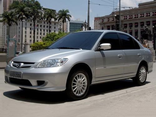 Exceptional Honda Civic 1.7 Lx 4p 2004