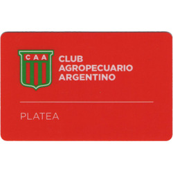 Socio fútbol / Platea Baja