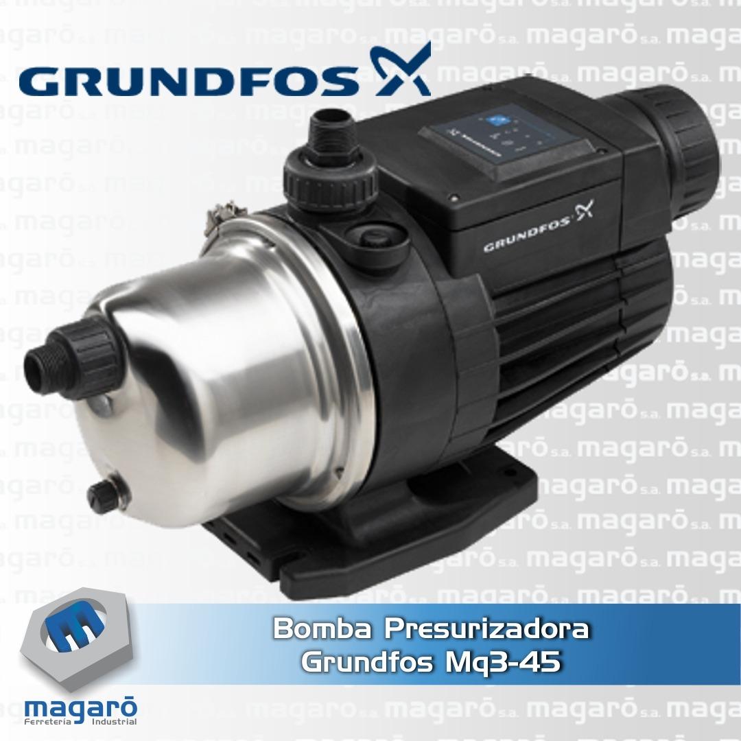 Bomba Presurizadora Grundfos MQ 3-45B