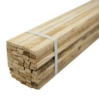 Ripa de madeira para faixa 1,50 x 0,02 x 0,01 m pacote com 50 unidades