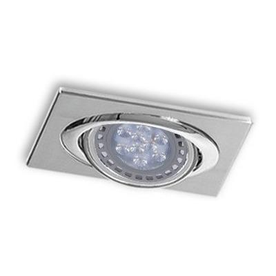 Spot De Embutir 2020e Rectangular Ar111 Cardanico 1 Luz