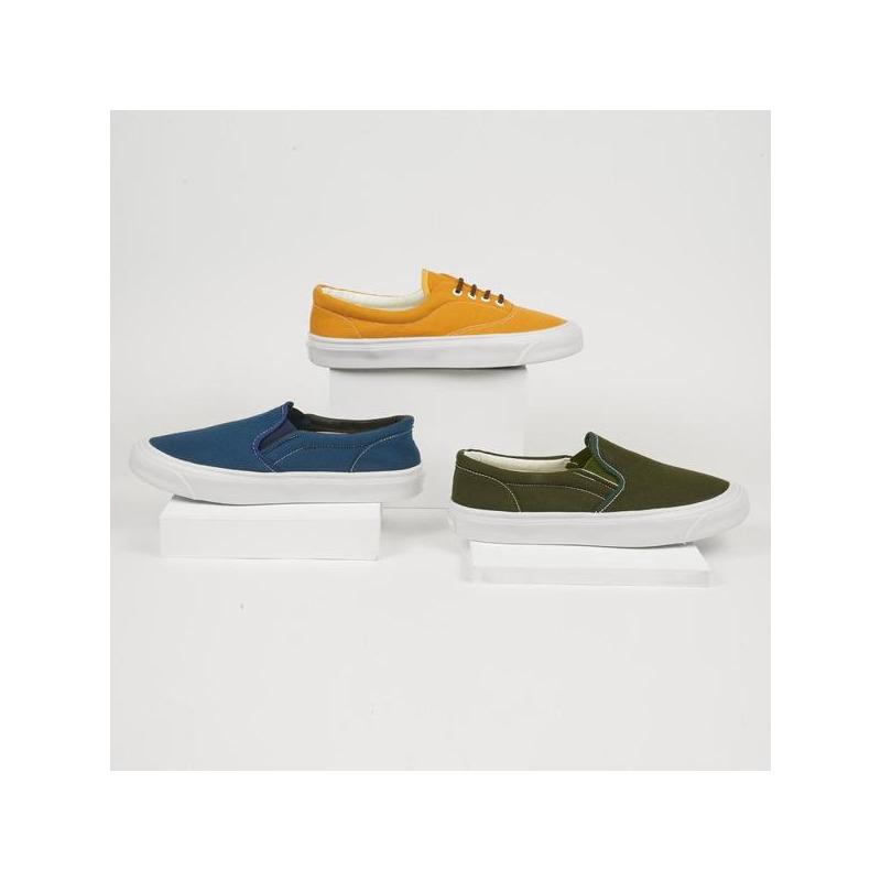 Combo sneakers azul, amarillo, verde 018722