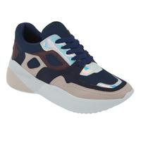 Sneakers Marino Con Detalles Multicolor 020922