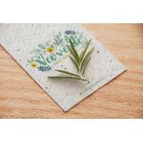 50 Etiquetas / Tags Plantables 8x5 cm - papel plantable c...