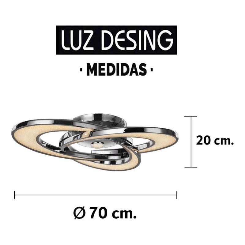 Plafon Led Sole 125w Súper Vanguardista Novedad Luz Desing