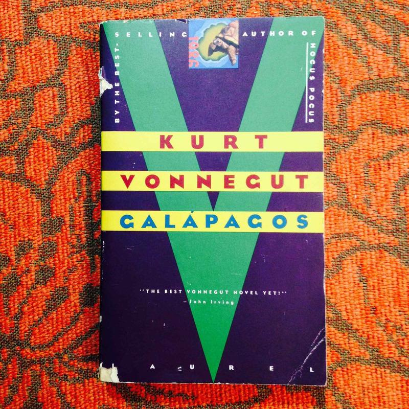 Kurt Vonnegut. GALÁPAGOS.