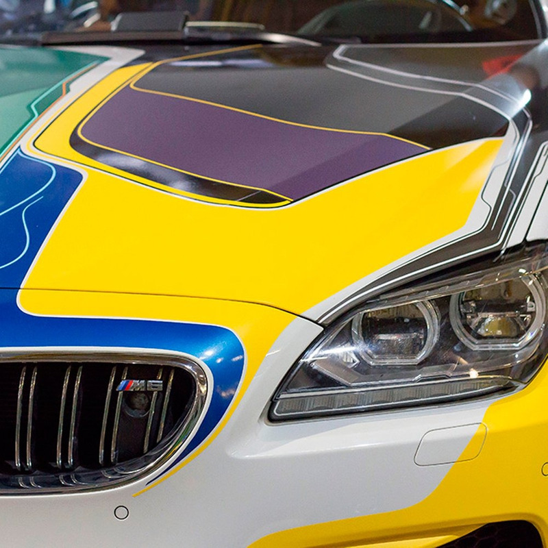 Adesivo para envelopamento automotivo jateado roxo metálico  larg. 1,38 m
