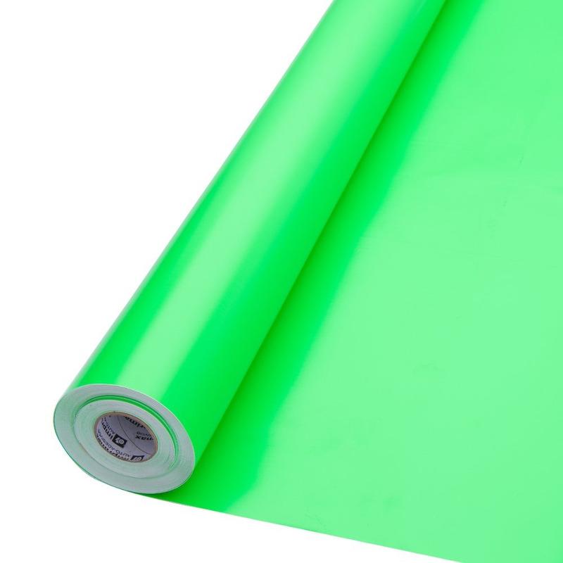 Vinil adesivo colormax fluorescente verde larg. 1,0 m