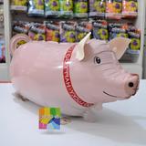 globo caminante chancho cerdo inflado con helio