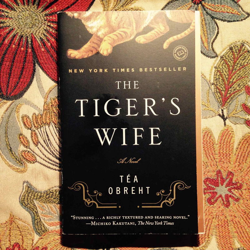 Téa Obreht.  THE TIGER'S WIFE.