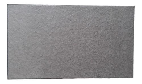 Ceramico 35x60 Basalto Acero 1era Cortines Piso Piedra Apto