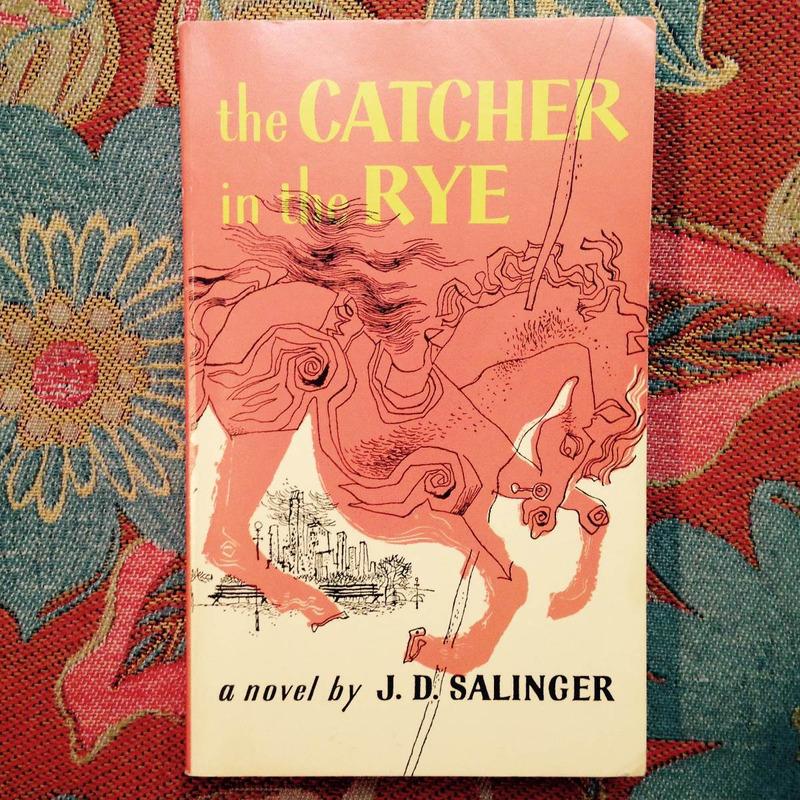 J.D Salinger.  THE CATCHER IN THE RYE.
