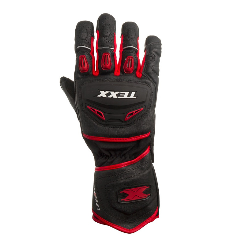 Luva Texx Iron Touch Finger Vermelha