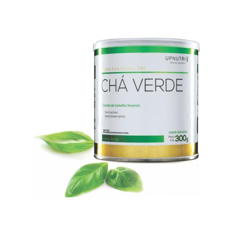 Cha Verde (Sabor Limao) - 300g - Upnutri
