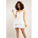 Vestido Magnolia Blanco