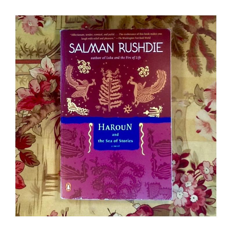 Salman Rushdie.  HAROUN AND THE SEA OF STORIES.