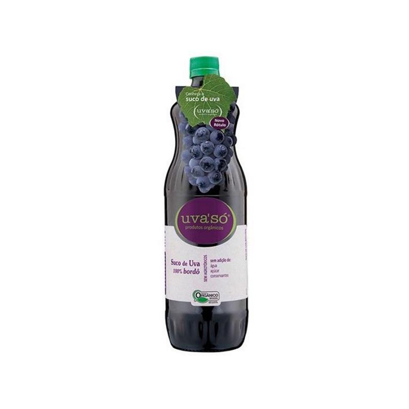 Suco de Uva Organico 100% Bordo 1L - Uva'So