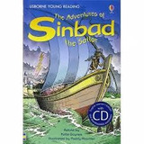 The Adventures of Sinbad the Sailor - Usborne Young Reading - Con CD