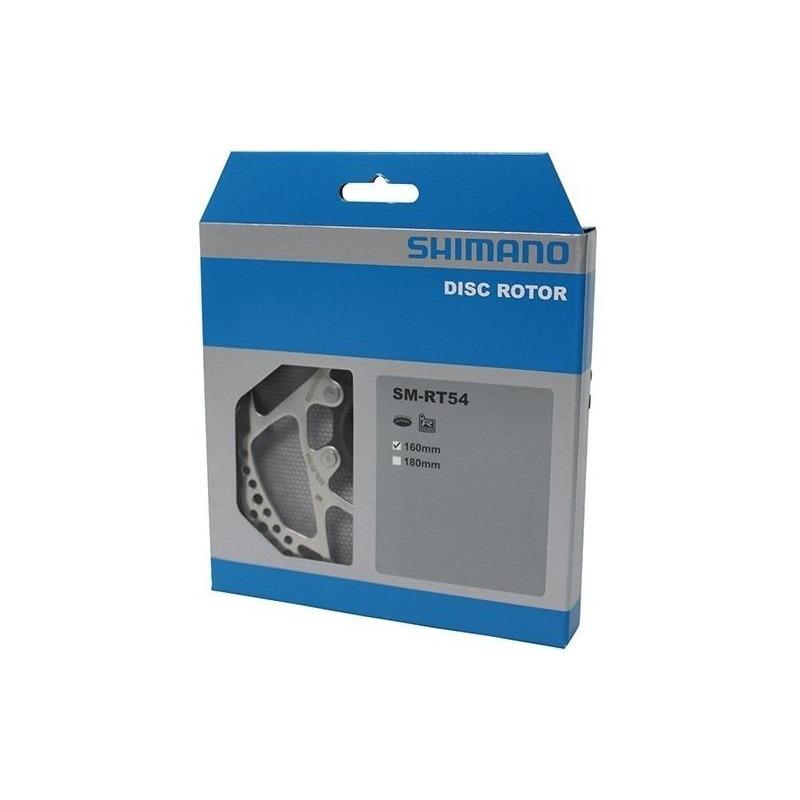 DISCO DE FREIO / ROTOR SHIMANO DEORE SM-RT54 160MM CENTER LOCK C/ PORCA