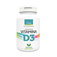 Vitamina D3 60 comprimidos 5mcg - Vital Natus