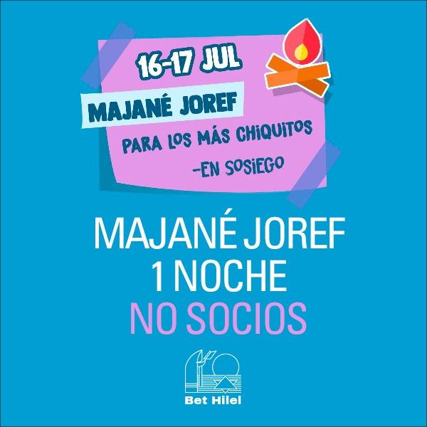 Majane Joref | 1 noche | No Socios