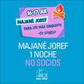 Majane Joref   1 noche   No Socios