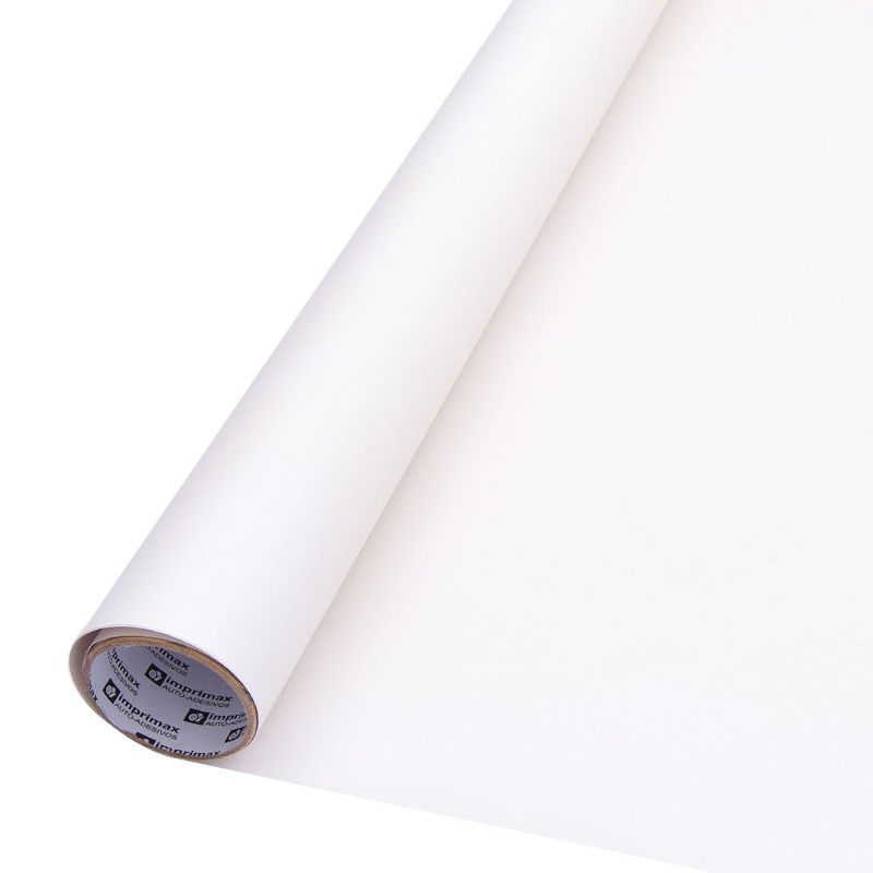 Vinil Adesivo para impressão DIGIMAX branco SEMI-BRILHO 0.08 Larg. 1,52 m