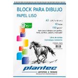 BLOCK PARA DIBUJO PLANTEC 150grs - A3/40hj