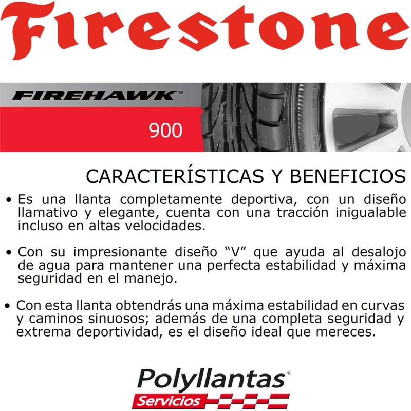 205-55 R16 91V Firehawk 900 Firestone