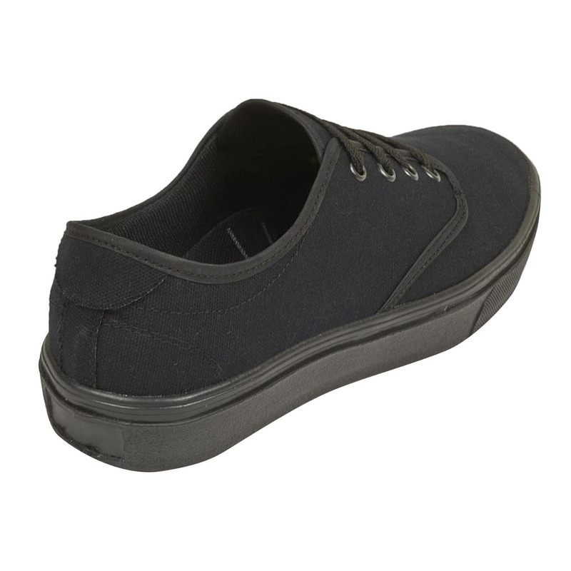 Sneakers negros textil  006109
