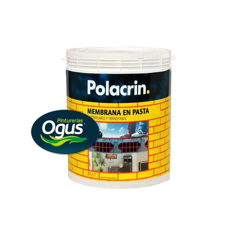 Polacrin Membrana En Pasta Techos 10 Lt Impermeable Ogus