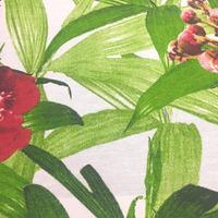 Tecido impermeável Acqua Soleil floral abricó