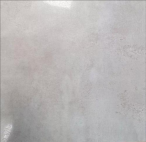 Porcelanato Cemento Gris Lapado Pulido 1era 60x60 Brillante