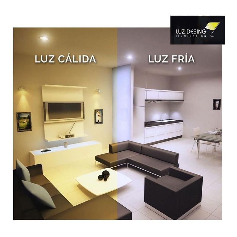 Plafon Embutir Led 24w Acero Redondo Panel Luz Desing