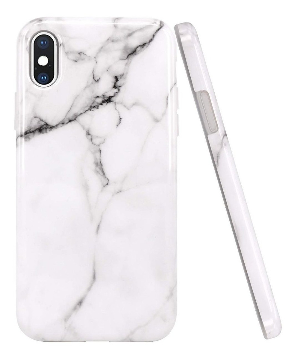 FUNDA MARMOL BLANCO IPHONE X/XS MAX