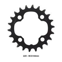 COROA SHIMANO ALIVIO FC-M4000 / M4050 22D BCD 64MM P/ RELAÇÃO DE 3X9V - UND