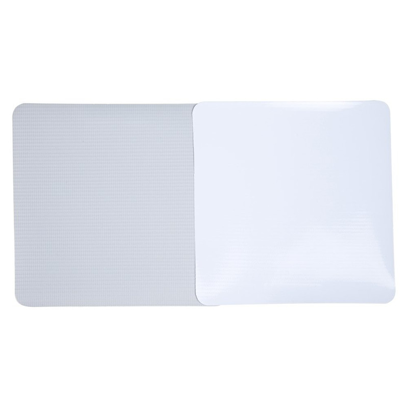 Lona para impressão digital Unifront branca brilho avesso cinza (380 g) larg. 1,52 m