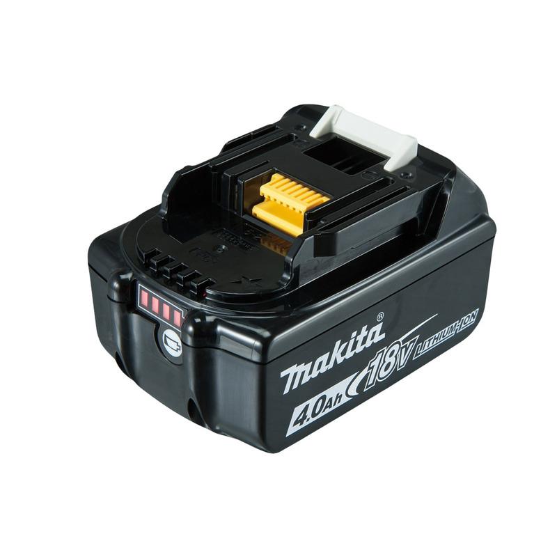 Tupia à Bateria 18V DRT50RMJX2-P + Kit de Fresas 1/4 - D-53578 - Makita