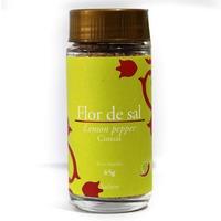 Flor de Sal com Lemon Pepper - 65g - Cimsal