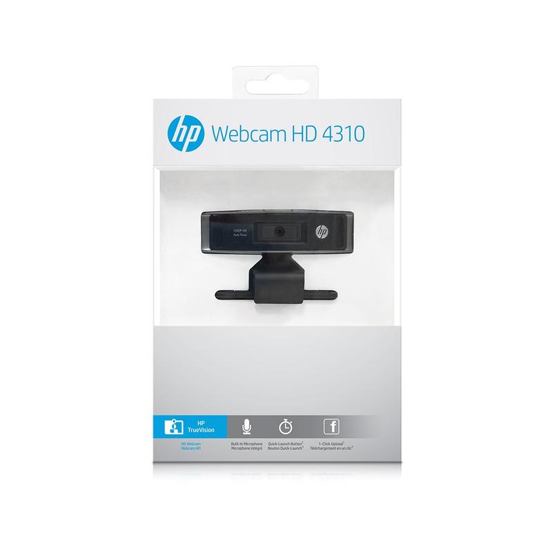 WEBCAM FULL HD 1080P HP HD4310