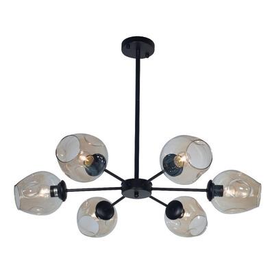 Lamparas Colgantes Araña Opla 6 Luces Living Deco E27 Lk