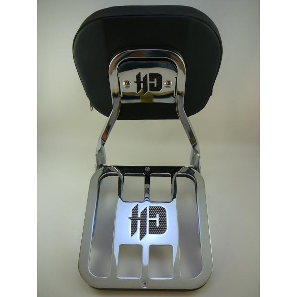 Sissy Bar Destacavel Cromado Harley Fat Boy 07-17 Sben-10